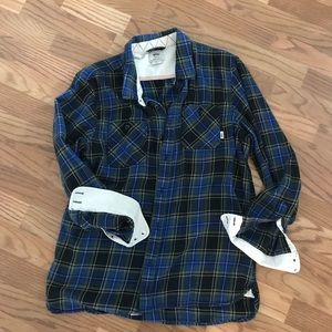 Vans off the wall flannel shirt